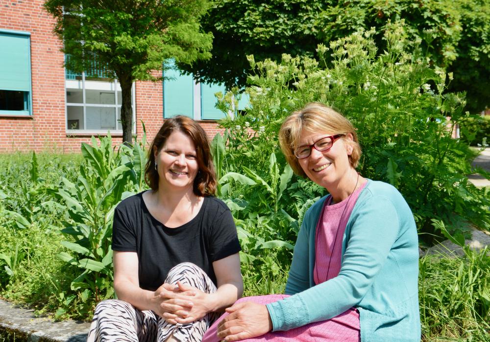 Stephanie Petersen und Birte Knuth