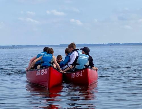 Klassenfahrt der 8a, 8b und 8e an den Kummerower See